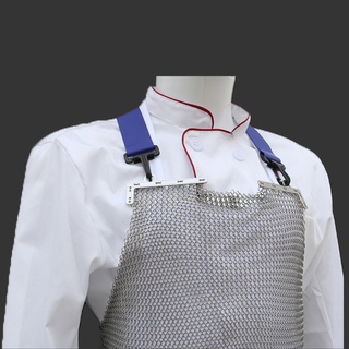 Stainless Steel Chainmail Mesh Apron Offered directly from factory with different Size